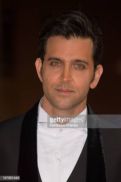 Indian actor Hrithik Roshan arrives for the tribute to Hindi cinema at the 12th Marrakech International Film Festival on December 1 2012 in Marrakech...