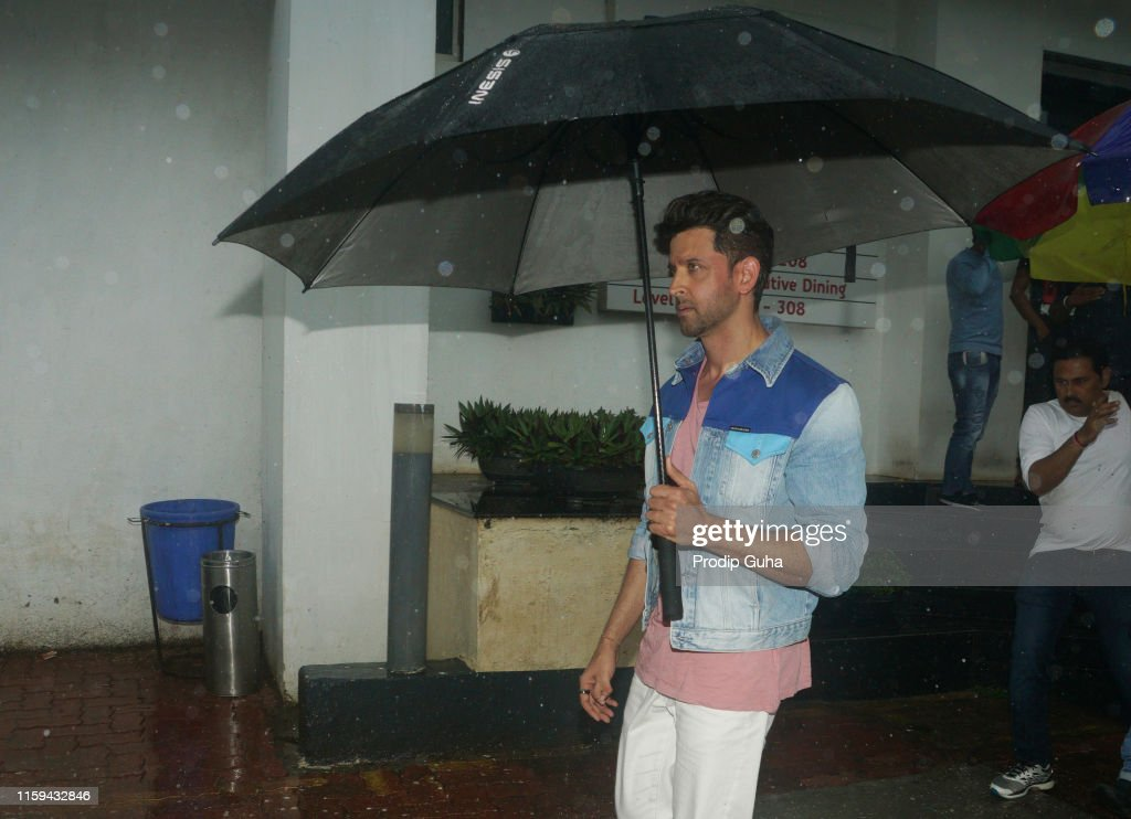 Indian actor Hrithik Roshan during the reality TV show