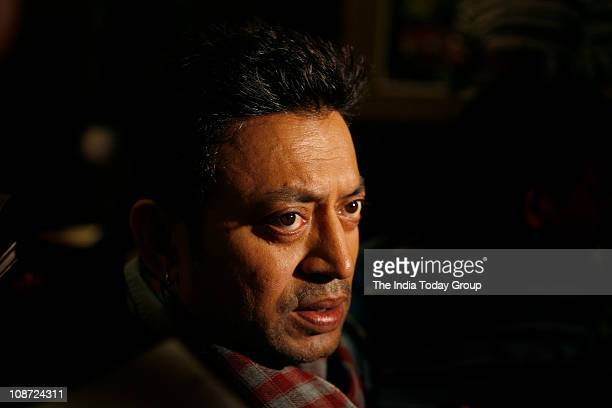Indian actor Irfan Khan at the press conference of Yeh Saali Zindagi in New Delhi 1st February 2011