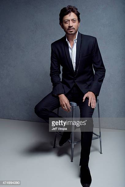 Indian actor Irrfan Khan photographed at the Toronto Film Festival on September 07 2013 in Toronto Ontario