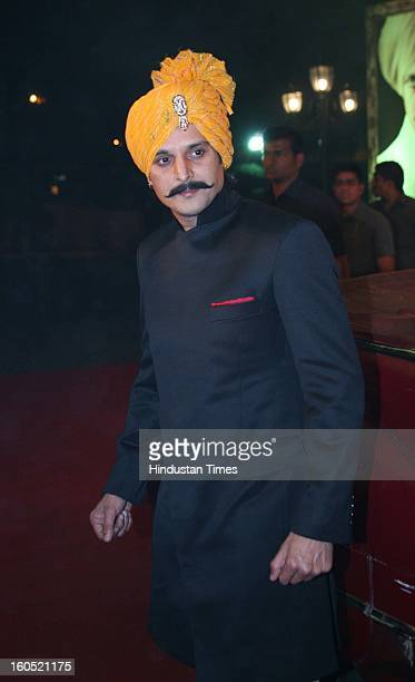 Indian actor Jimmy Shergill pose for the camera during release of official trailer for upcoming movie Saheb Biwi Aur Gangster Returns at JW Marriot...