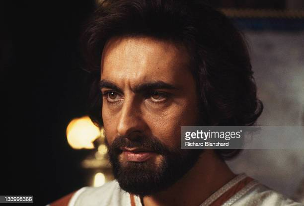 Indian actor Kabir Bedi as Prince Taj in the television fantasy 'The Thief of Baghdad' 1978