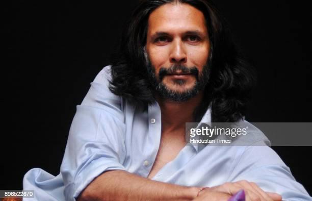 Indian actor Milind Soman during profile shoot in New Delhi