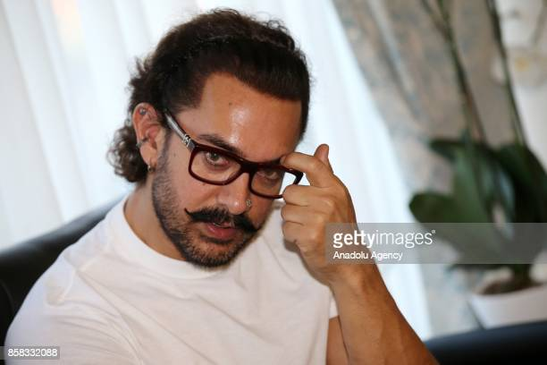Indian actor movie director and producer Aamir Khan invited by Turkish Culture and Tourism Ministry meets with Turkish National Education Ministry...