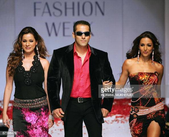 Indian actor Salman Khan (C) along with Pictures | Getty ...