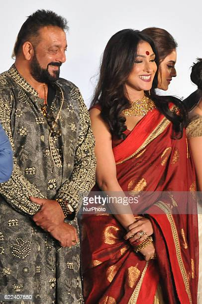 Indian actor Sanjoy Dutt and Actress Rituparna Sengupta during the 22nd Kolkata International Film Festival Inauguration ceremony at Kolkata Netaji...