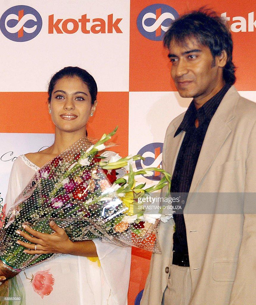 Indian Actors Married Couple Kajol L And Ajay Devgan R Launch