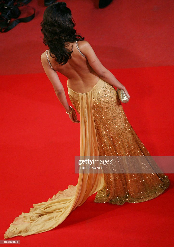 Indian actress and model Mallika Sherawat arrives for the screening of 'Copie Conforme (Certified Copy) presented in competition at the 63rd Cannes Film Festival on May 18, 2010 in Cannes.