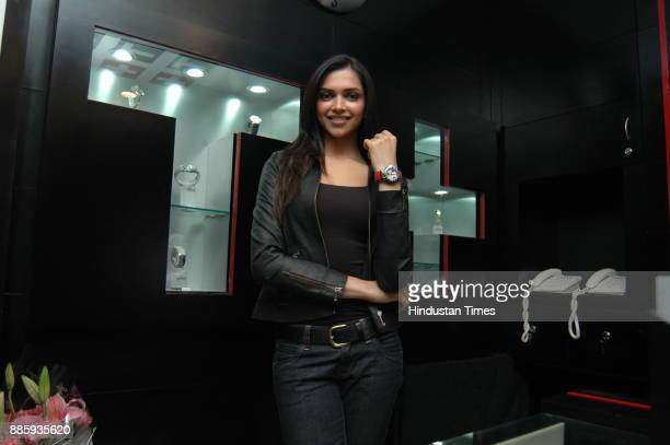 Indian actress Deepika Padukon photographed during an interview in New Delhi