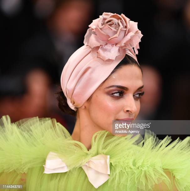 Indian actress Deepika Padukone arrives for the screening of the film 'Dolor y Gloria' in competition at the 72nd annual Cannes Film Festival in...