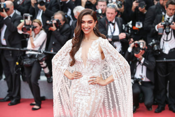 Indian actress Deepika Padukone attends the screening of 'Sorry Angel ' during the 71st annual Cannes Film Festival at Palais des Festivals on May...