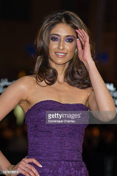 Indian actress Ileana D'Cruz arrives at the Jonathan Demme tribute during the 12th International Marrakech Film Festival on December 6 2012 in...