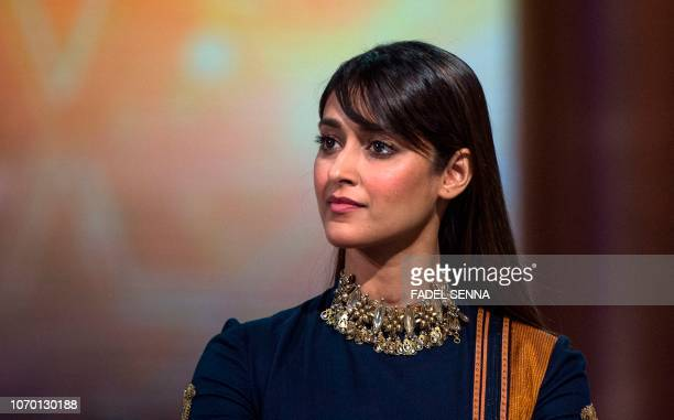 Indian actress Ileana D'Cruz attends the closing ceremony of the 17th Marrakech International Film Festival on December 8 2018 in Marrakech