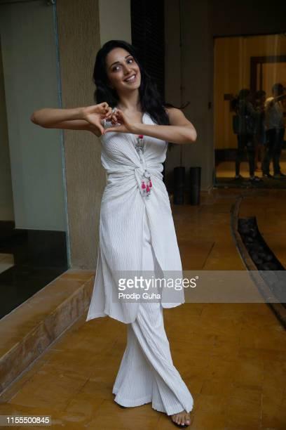 Indian actress Kiara Advani attends the media interview for film Prootion of film n'Kabir Singh JUNE 12 2019 in Mumbai India