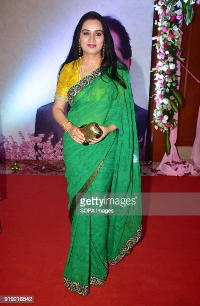 Indian actress Padmini Kolhapure present at the 5th Yash Chopra Memorial Award at hotel JW Marriott Juhu in Mumbai