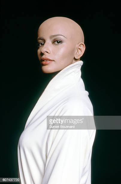 Indian actress Persis Khambatta on the set of Star Trek The Motion Picture directed by Robert Wise