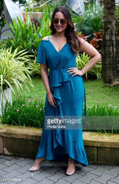 Indian actress Sonakshi Sinha attends the media interview for film success Mission Mangal on Sep 06, 2019 in Mumbai, India.