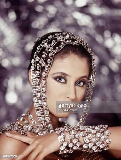 Indian actress, Urmila Matondkar, 2000.