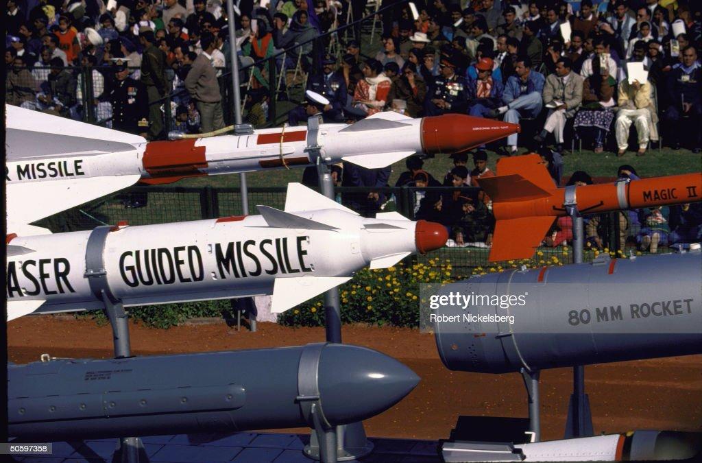 Indian Air Force armament incl. 80mm roc : News Photo
