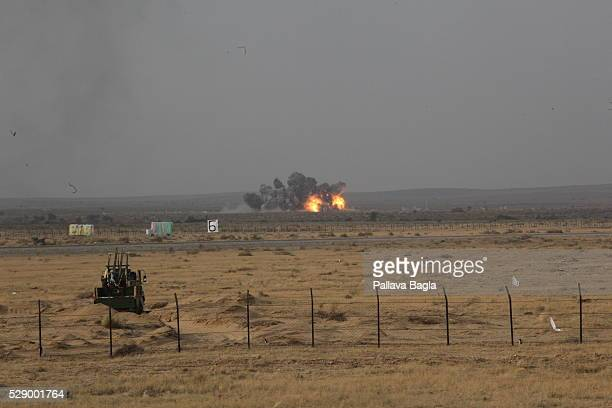 Indian Air Force's daynight exercise demonstrating its combat and fire power was conducted at the Pokhran firing range The event comprised more than...