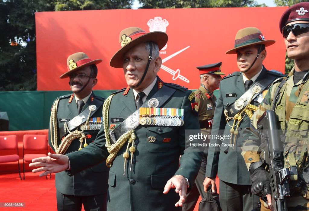 Army Day Parade 2018 : News Photo