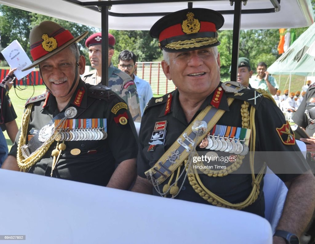 Indian Army Chief General Bipin Rawat Attends Passing Out Parade In Dehradun : News Photo