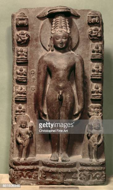 Indian Art Rishabhanatha first Tirthankaras in Jainism Paris Musee Guimet