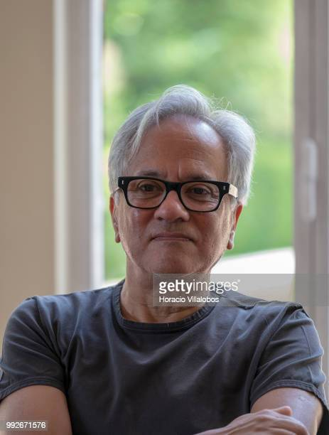 Indian artist Anish Kapoor during the presentation to the press of his exhibition 'Anish Kapoor Works Thoughts Experiments' in Serralves Museum and...