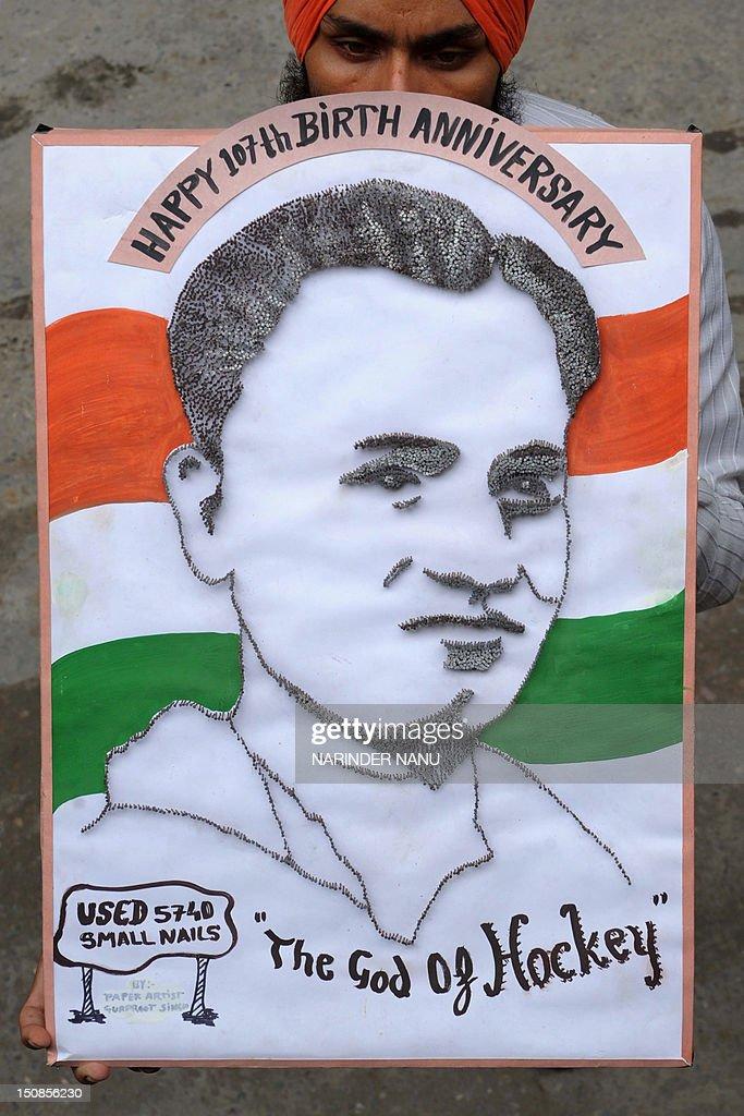 INDIA-ART-HOCKEY : News Photo
