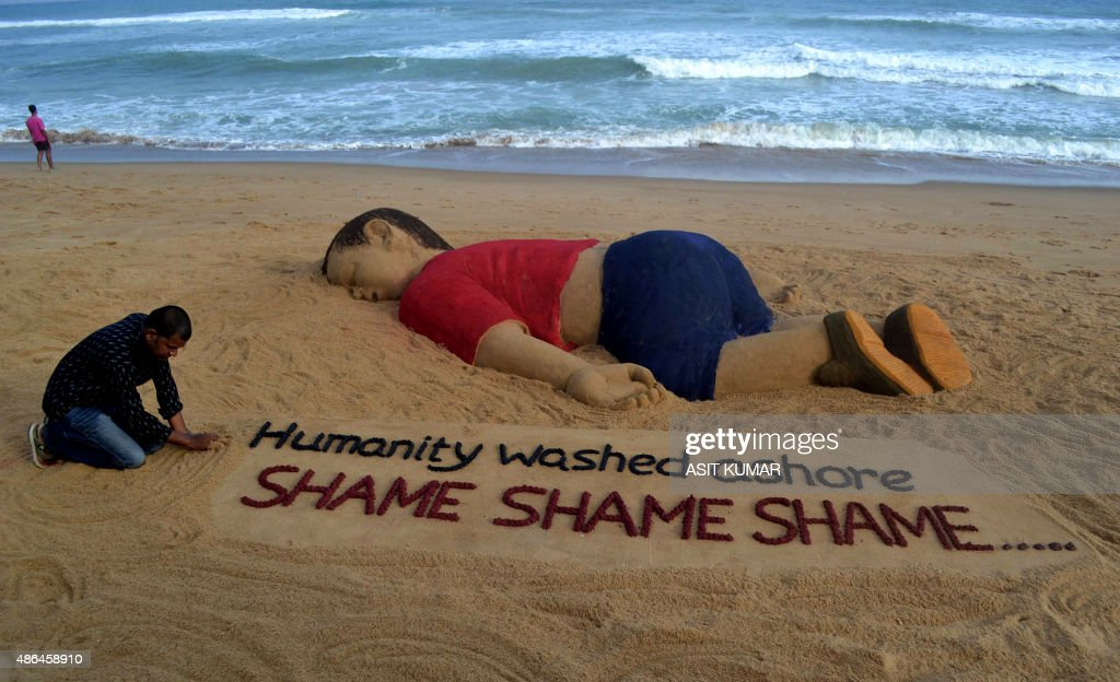 INDIA-EUROPE-MIGRANTS-TURKEY-SYRIA-CONFLICT : News Photo