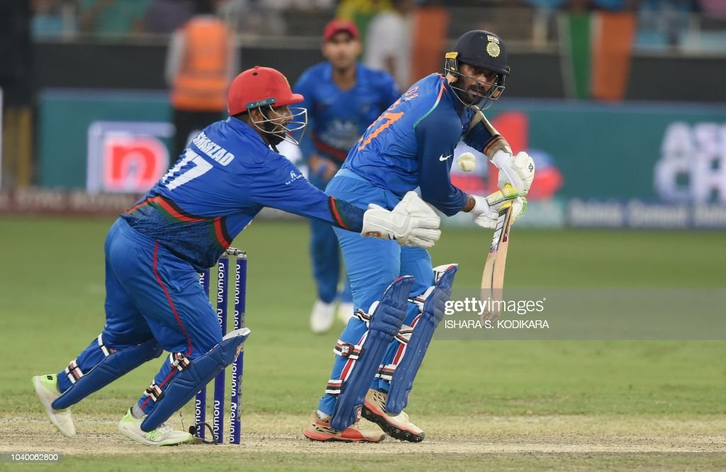 CRICKET-ASIA-CUP-IND-AFG : News Photo