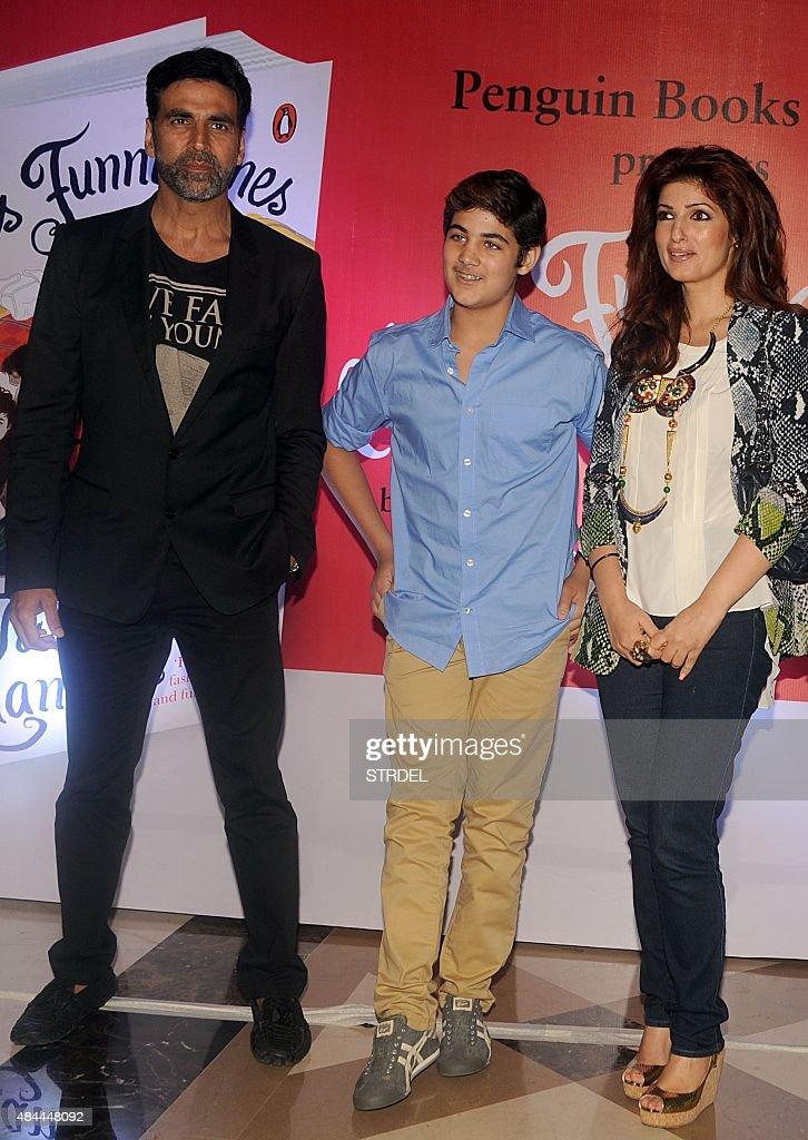 Indian Bollywood actor Akshay Kumar L actress columnist and