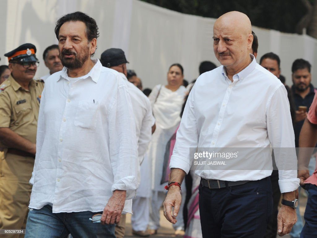 INDIA-ENTERTAINMENT-FILM-BOLLYWOOD-SRIDEVI : News Photo