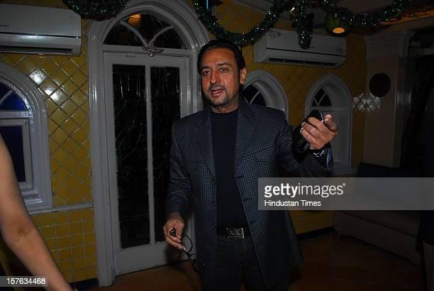 Indian bollywood actor Gulshan grover attending the 24th anniversary of Goa Portuguesa restaurant celebration party at Shivaji Park Mahim on December...