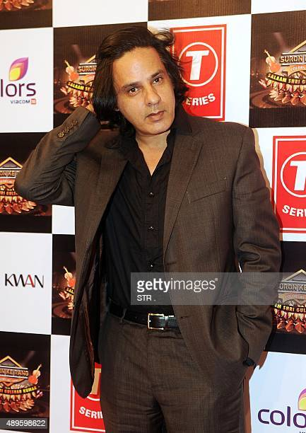 Indian Bollywood actor Rahul Roy poses during the 'Suron Ke Rang Color ke Sang Salaam Shri Gulshan Kumar' musical concert in fond memory of the late...