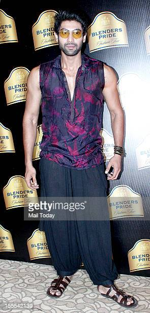 Indian Bollywood actor Rana Daggubati at Blenders Pride Fashion Tour in Mumbai on Saturday evening