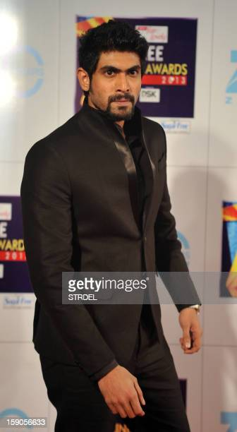 Indian Bollywood actor Rana Daggubati attends the Zee Cine Awards 2013 ceremony in Mumbai on January 6 2013 AFP PHOTO/ STR