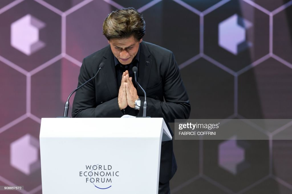 SWITZERLAND-ECONOMY-POLITICS-DIPLOMACY-DAVOS-SUMMIT : News Photo
