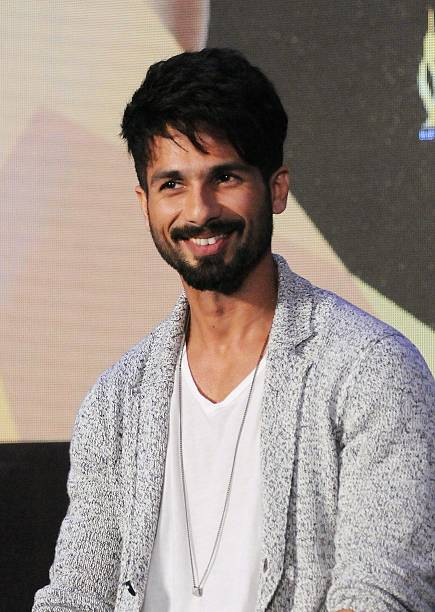 Indian Bollywood Actor Shahid Kapoor Attends The IIFA Weekend And Awards Announcement Press Conference In Mumbai
