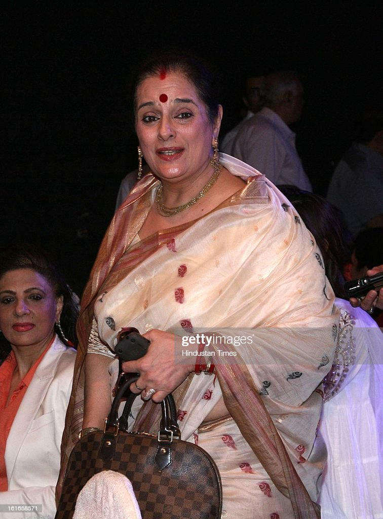 Indian bollywood actor Shatrughan Sinha's wife Poonam Sinha
