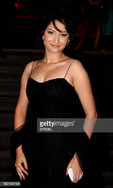 Indian Bollywood actress Ankita Lokhande attends the premiere of Hindi film 'Kai Po Che' in Mumbai on February 18 2013 AFP PHOTO