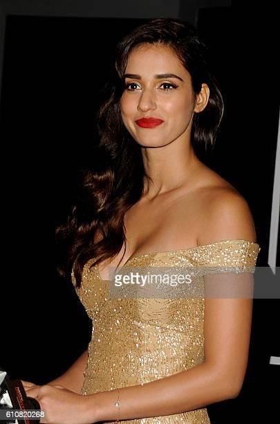 Indian Bollywood actress Disha Patani attends GQ India's Men of the Year Awards 2016 in Mumbai on September 27 2016 / AFP /