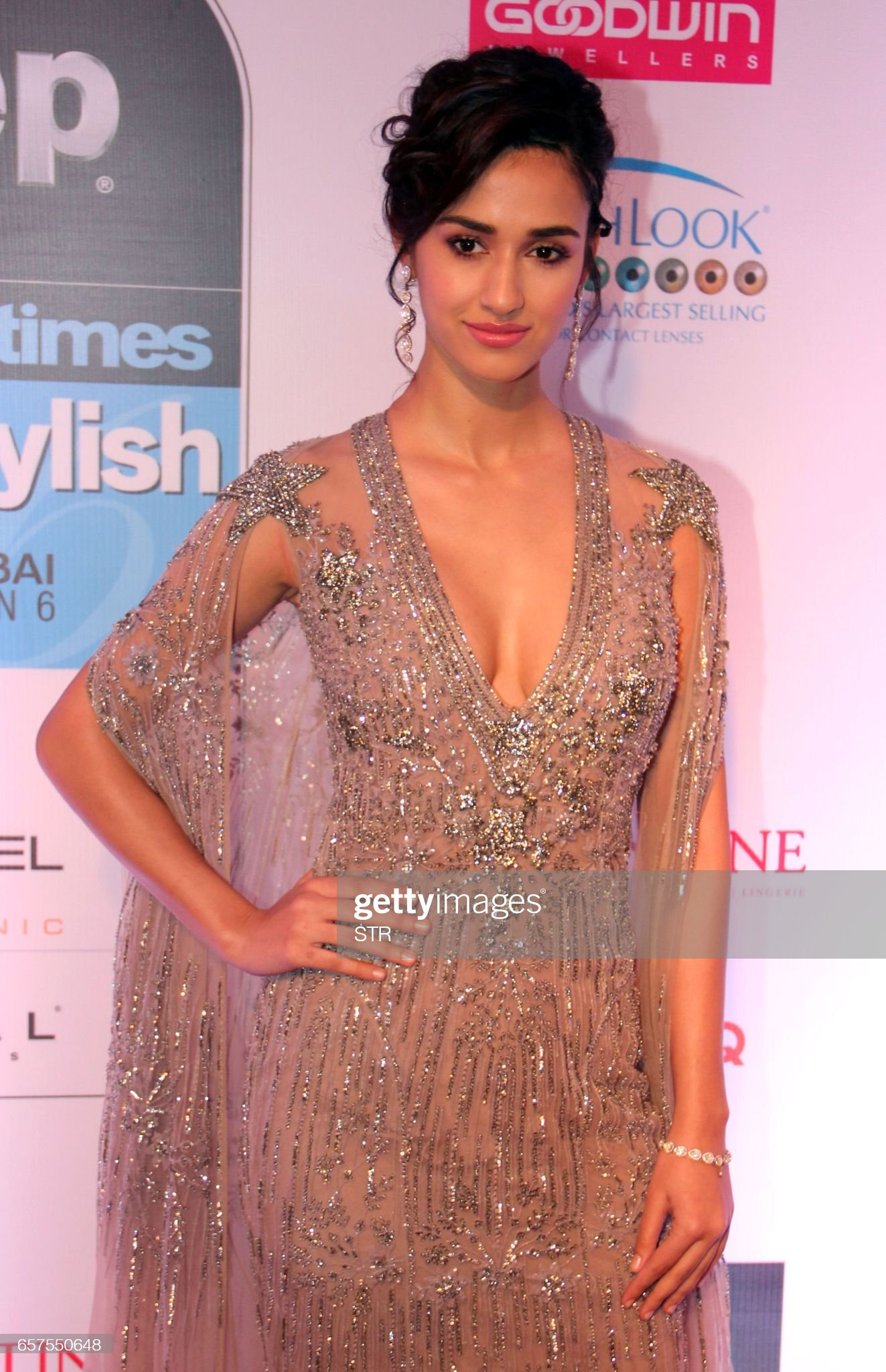 indian-bollywood-actress-disha-patani-poses-as-she-attends-the-ht-picture-id657550648