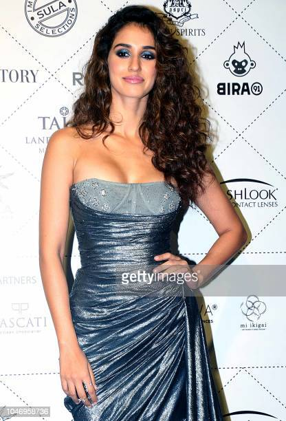 Indian Bollywood Actress Disha Patani Poses For A Picture As She Attends Elle Beauty Awards