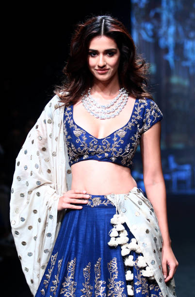 indian-bollywood-actress-disha-patani-showcases-a-creation-by-reddy-picture-id633893438