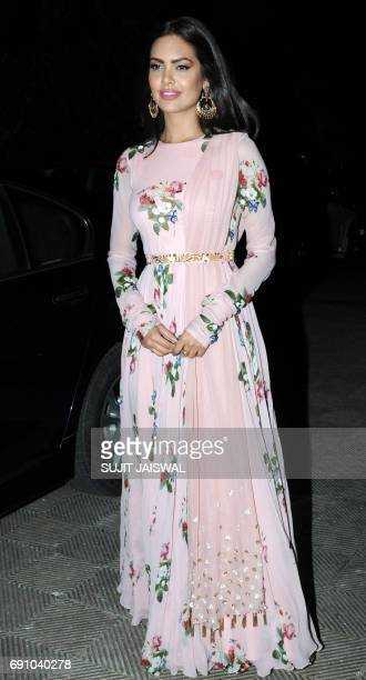 Indian Bollywood actress Isha Gupta attends a World No Tobacco Day 'Love for Life' music concert organized by the Cancer Patients Aid Association in...