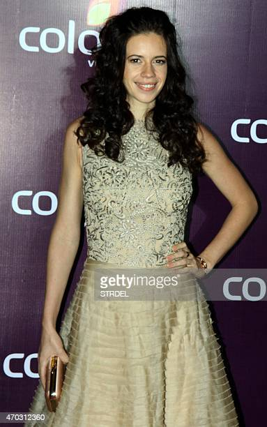 Indian Bollywood actress Kalki Koechlin poses for a photograph during a promotional event in Mumbai on late April 18 2015 AFP PHOTO / STR