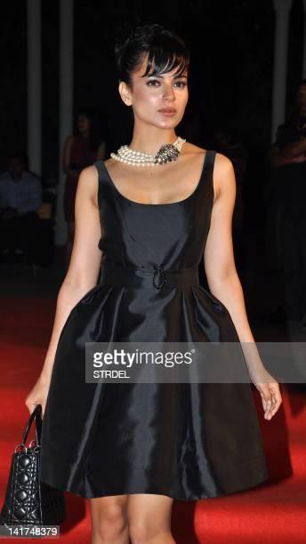 Indian Bollywood actress Kangna Ranaut attends the L'Oreal Paris Femina Women Awards 2012 in Mumbai on March 22 2012 AFP PHOTO/STR