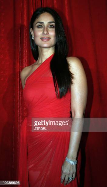 Indian Bollywood actress Karina Kapoor poses at the unveiling of the latest issue of the film magazine 'Stardust' in Mumbai late February 23 2011 AFP...