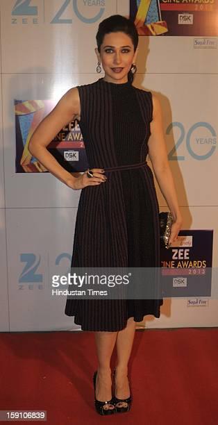 Indian bollywood actress Karisma Kapoor attending Zee Cine Awards 2013 at Yash Raj Studio on January 6 2013 in Mumbai India